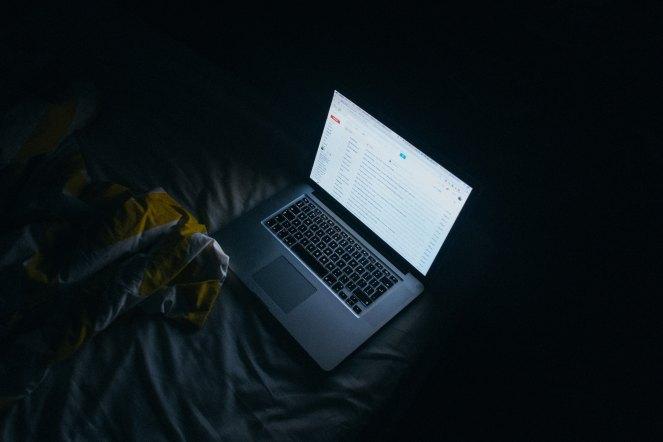 PC in the dark